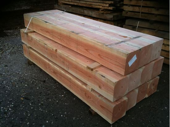 Douglas Fir Beams in Venables Brothers Yard