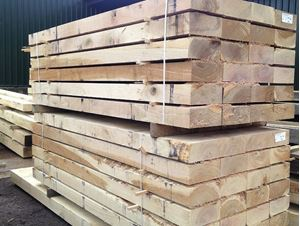 Fresh Sawn Sleeper Packs Venables Brother Yard
