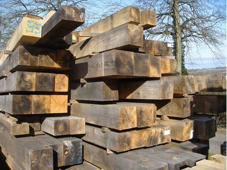 Picture for category European Oak          Beams