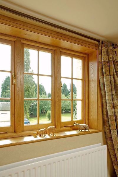 Window boards in use, project by Venables Brothers Ltd