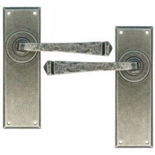Picture of Avon Lever Latch Set Pewter Patina Finish