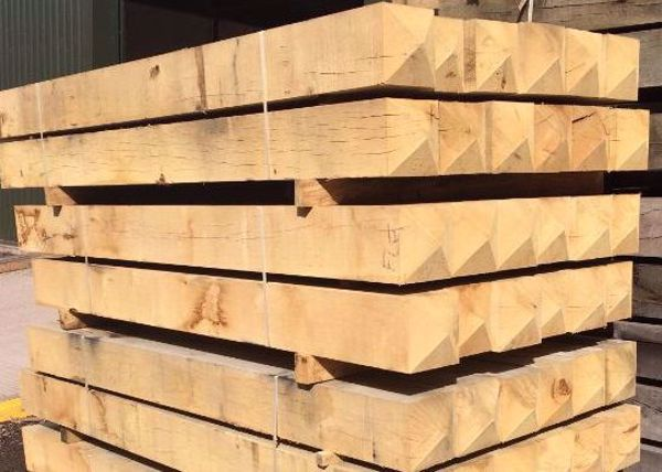 Picture of Oak Gate Posts