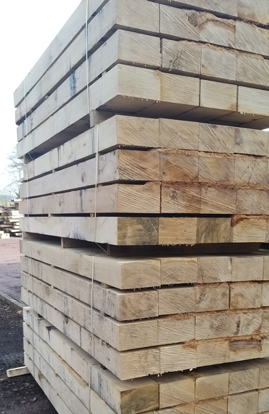 Picture of Fresh Sawn Sleeper Grade European Oak