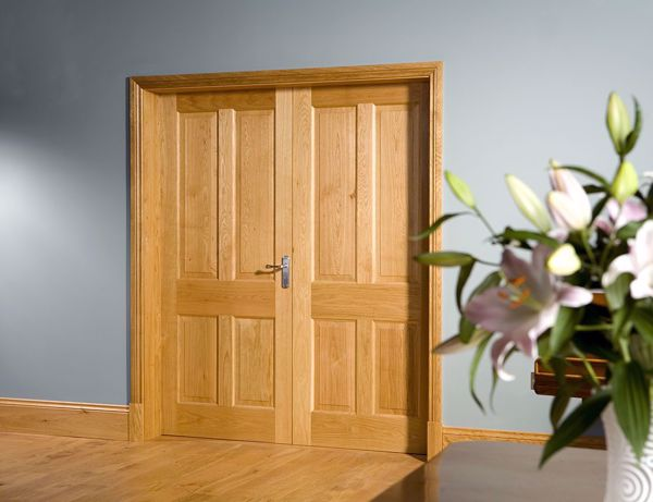 Picture of Four Paneled Doors