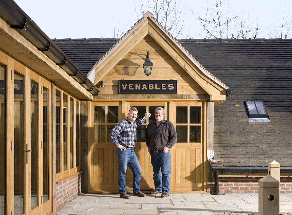 Chuck and Paul Venables